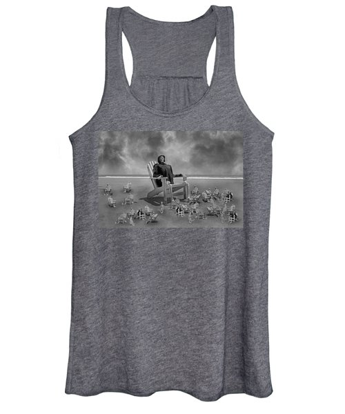 It's All In Black And White Women's Tank Top
