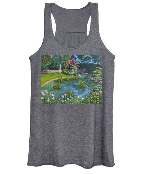Japanese Garden Women's Tank Top