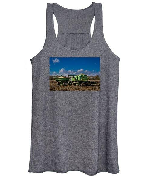 John Deere Combine 9770 Women's Tank Top
