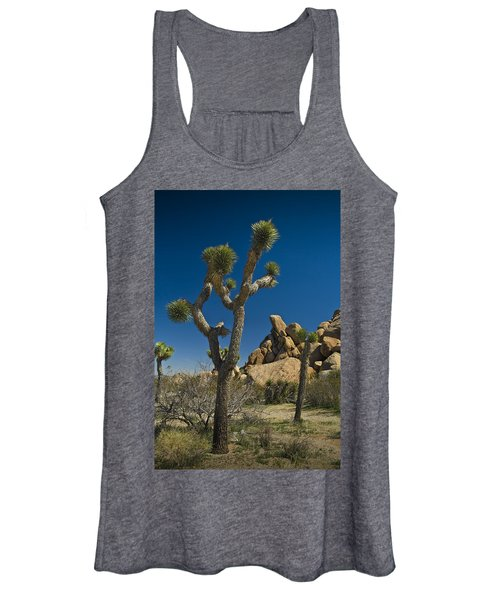 California Joshua Trees In Joshua Tree National Park By The Mojave Desert Women's Tank Top