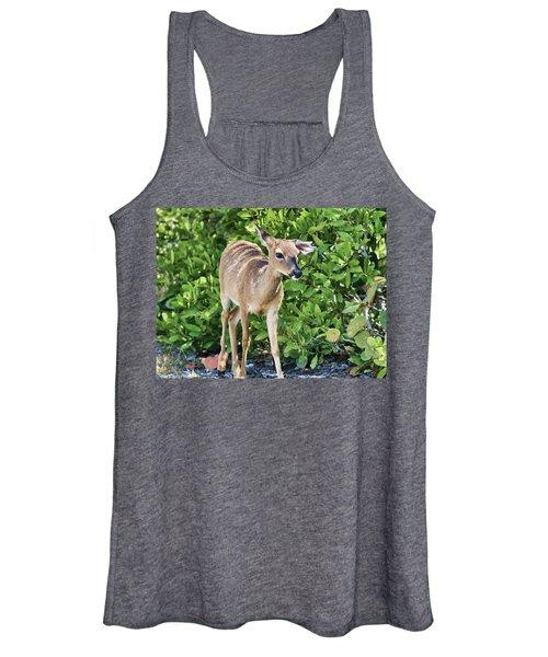 Key Deer Cuteness Women's Tank Top