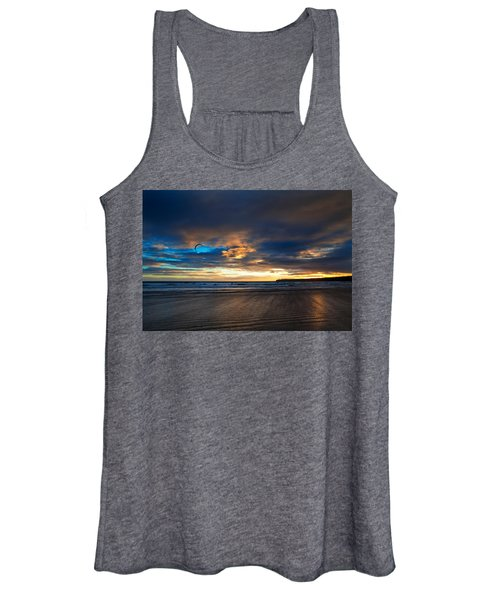 Kite Surfers On Tramore Beach Women's Tank Top