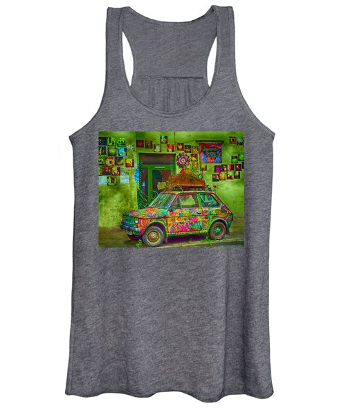Color On The Road Women's Tank Top