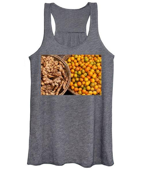 Kumquats And Ginger Women's Tank Top