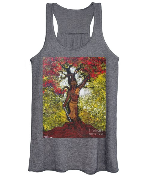 Lady Of Justice Women's Tank Top