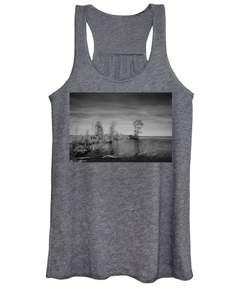 Women's Tank Top featuring the photograph Lake Drummond by Pete Federico