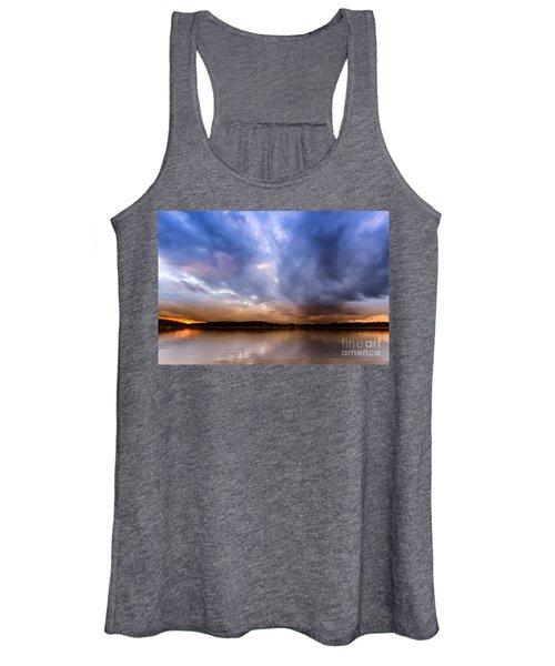 Lake Lanier Sunset Women's Tank Top