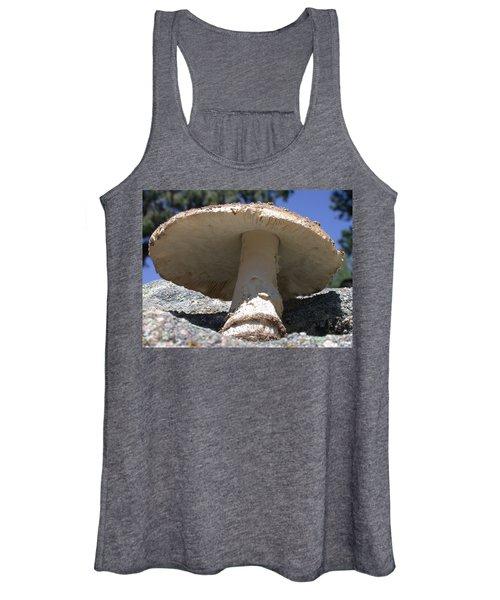 Large Mushroom Women's Tank Top
