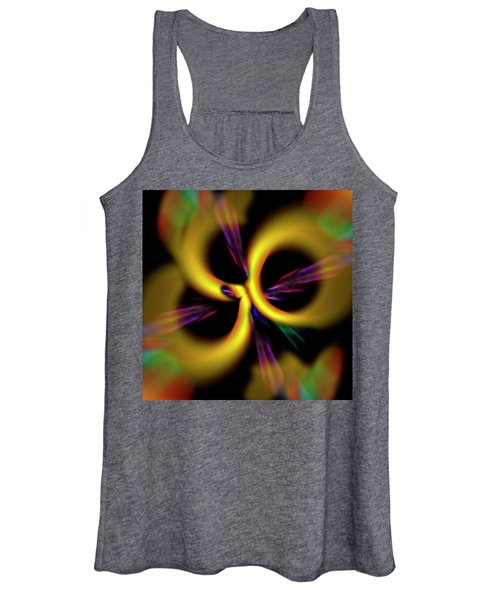 Laser Lights Abstract Women's Tank Top