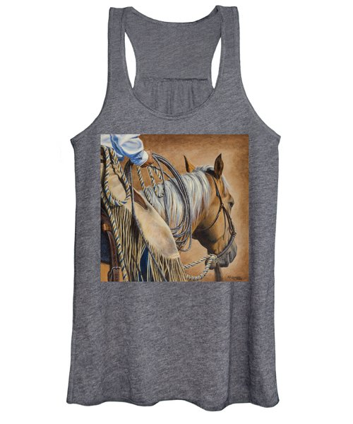 Lariat And Leather Women's Tank Top