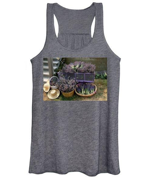 Lavender Harvest Women's Tank Top