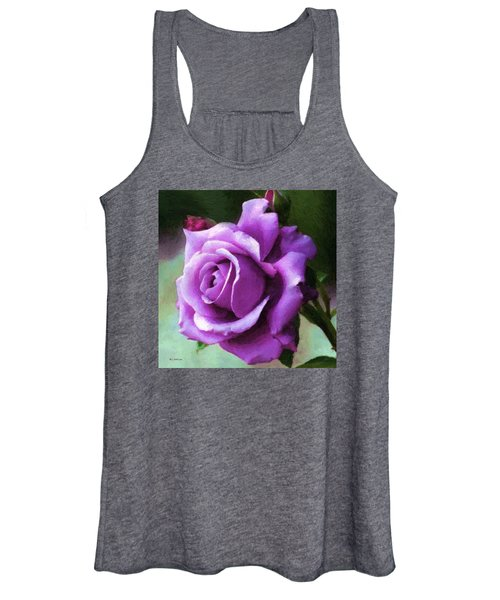 Lavender Lady Women's Tank Top