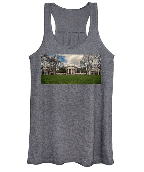 Lawn And Rotunda At University Of Virginia Women's Tank Top
