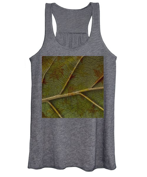 Leaf Design II Women's Tank Top