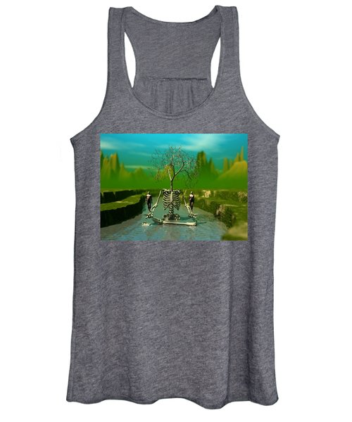 Life Death And The River Of Time Women's Tank Top