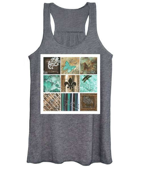 Live And Love By Madart Women's Tank Top