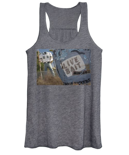 Live Bait And The Man Women's Tank Top