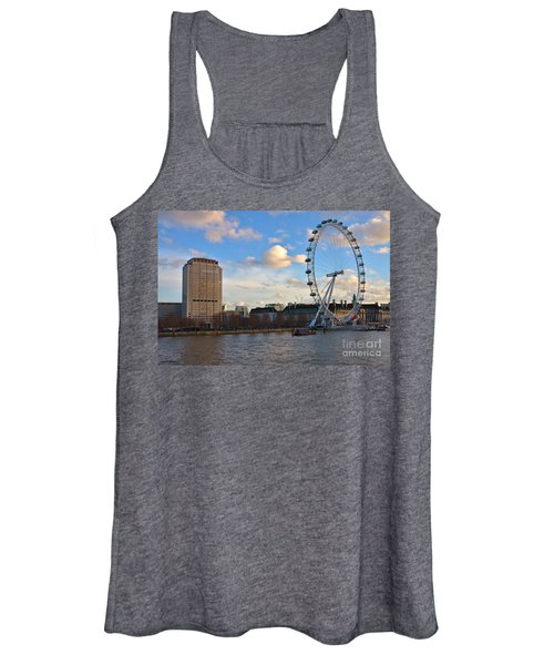 London Eye And Shell Building Women's Tank Top