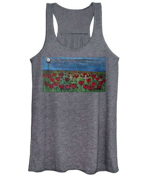 Love For Flanders Fields Poppies Women's Tank Top