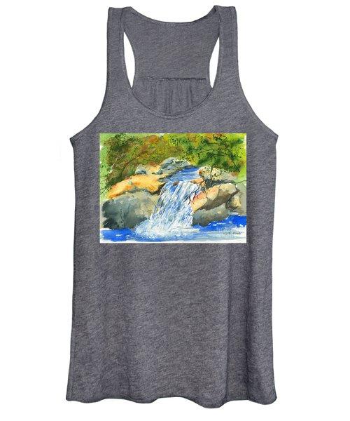 Lower Burch Creek Women's Tank Top