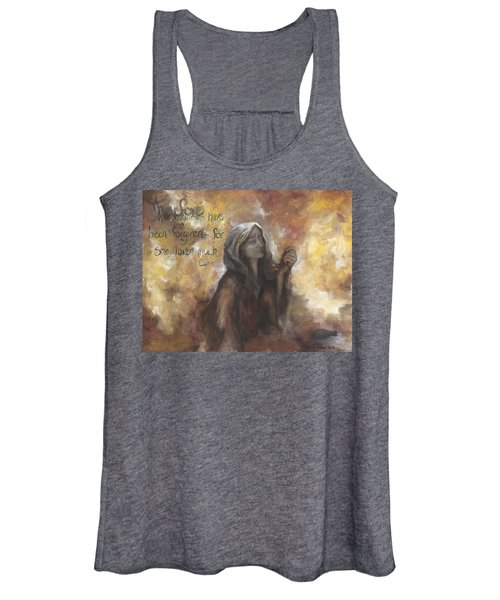 Luke 7 Verse 47 Forgiveness Women's Tank Top