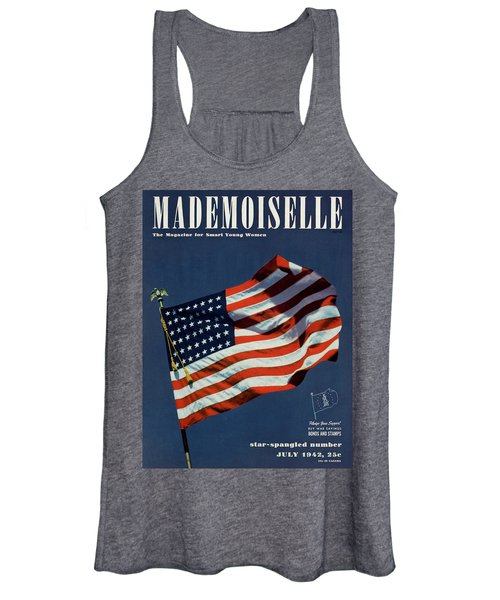 Mademoiselle Cover Featuring The U.s. Flag Women's Tank Top