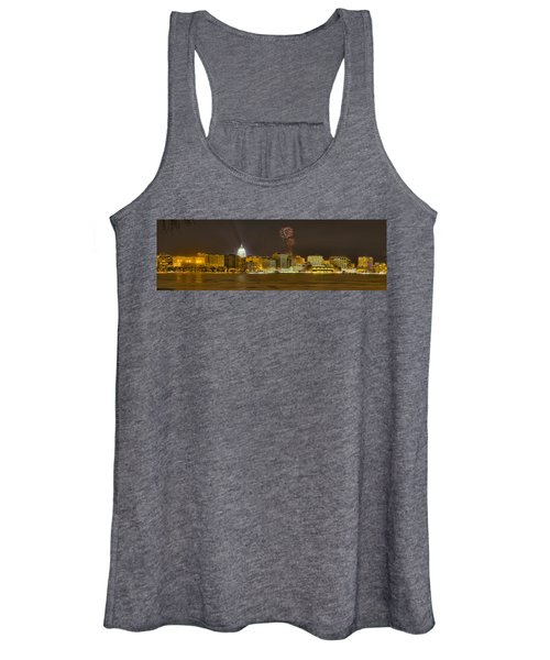 Madison Skyline New Years Eve Women's Tank Top