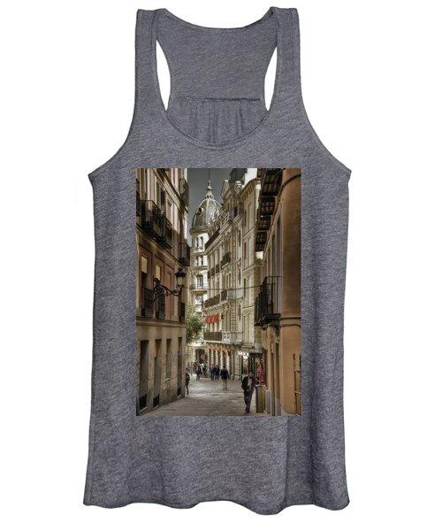 Madrid Streets Women's Tank Top