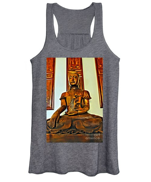 Majestic Buddha Women's Tank Top