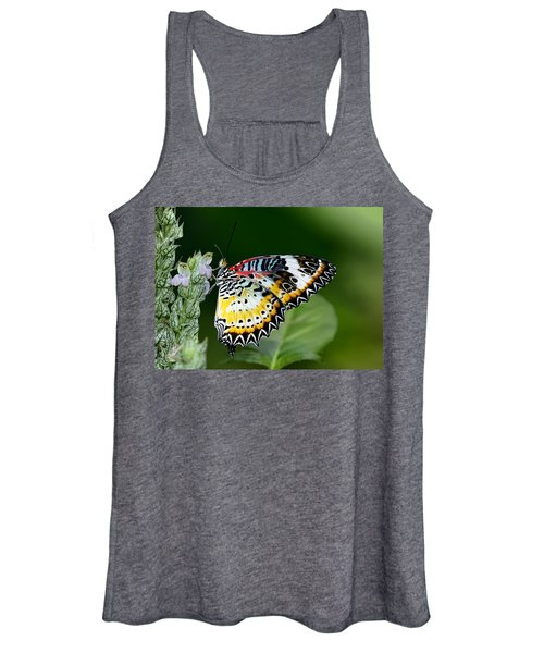 Malay Lacewing Butterfly Women's Tank Top