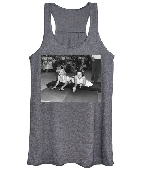 Marilyn Monroe And Jane Russell Women's Tank Top