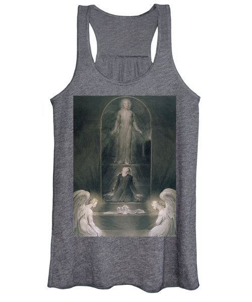 Mary Magdalene At The Sepulchre Women's Tank Top