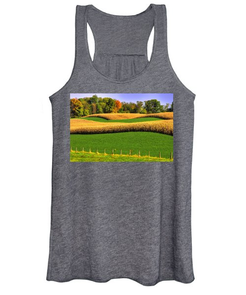 Maryland Country Roads - Swales Women's Tank Top