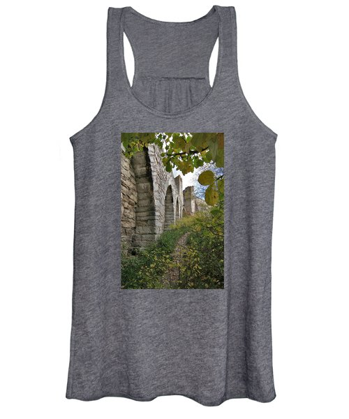 Medieval Town Wall Women's Tank Top