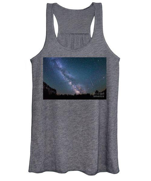 Meteor Milky Way  Women's Tank Top
