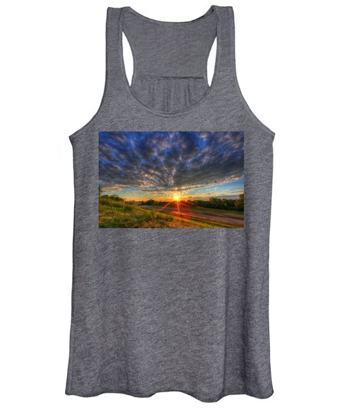 Midwest Sunset After A Storm Women's Tank Top