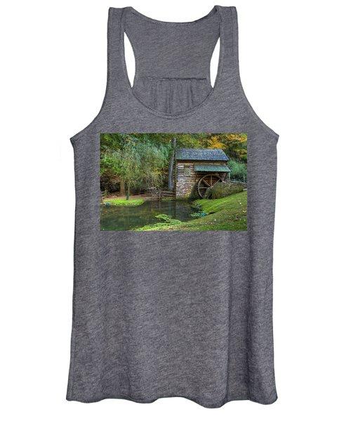 Mill Pond In Woods Women's Tank Top