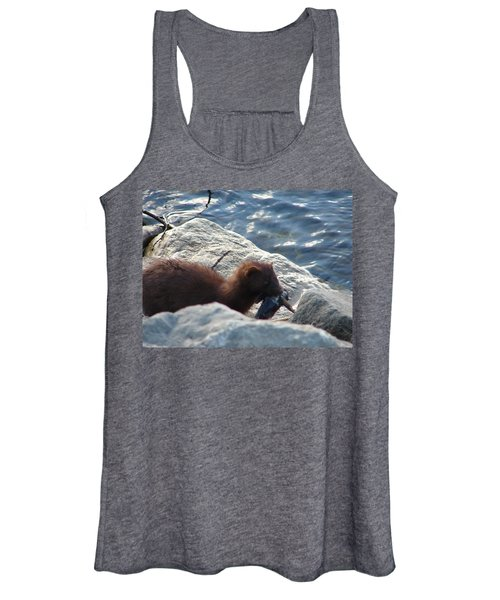 Mink With A Round Goby Women's Tank Top