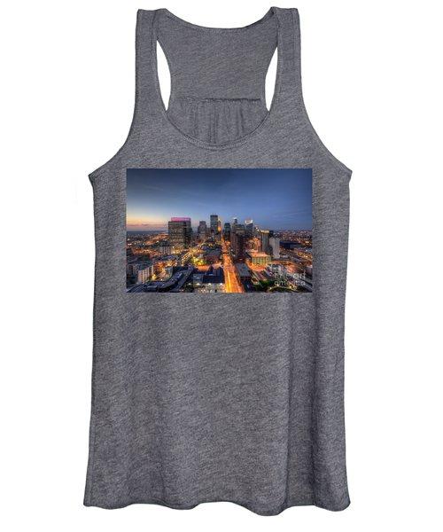 Minneapolis Skyline At Night Women's Tank Top