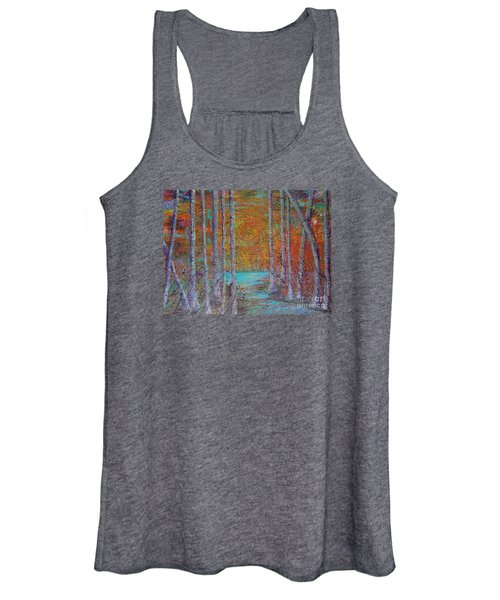 Minnesota Sunset Women's Tank Top