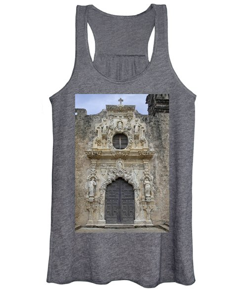 Mission San Jose Doorway Women's Tank Top