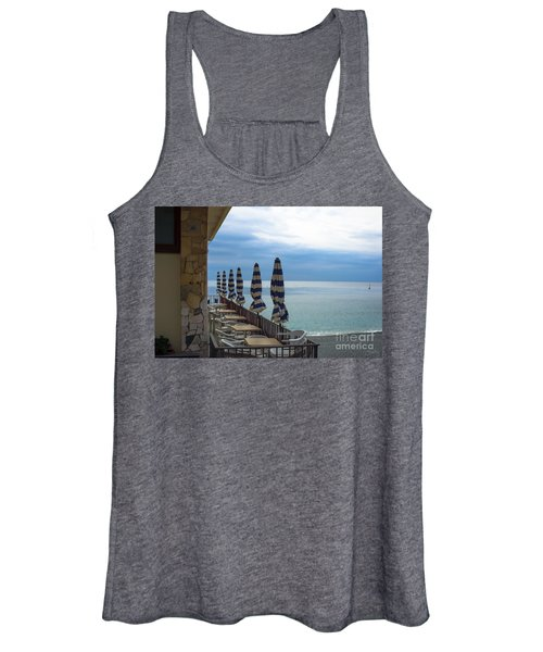 Monterosso Outdoor Cafe Women's Tank Top