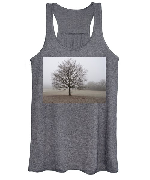 Morning Fog Women's Tank Top