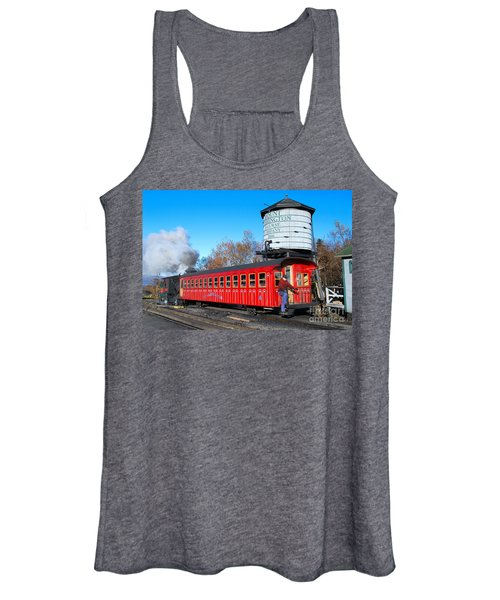 Mount Washington Cog Railway Car 6 Women's Tank Top