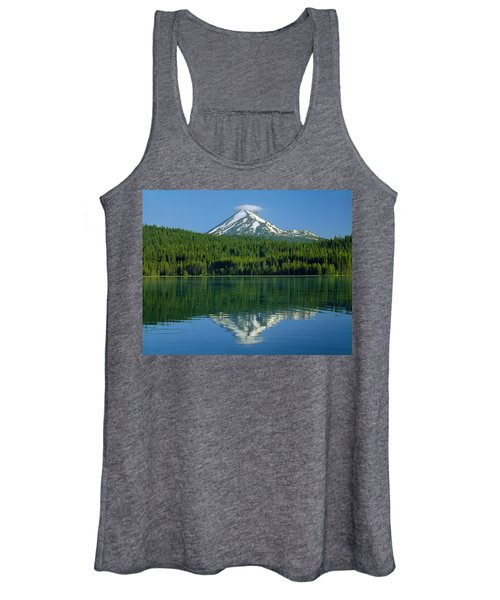 1m5705-h-mt. Mcloughlin From Lake Of The Woods Women's Tank Top