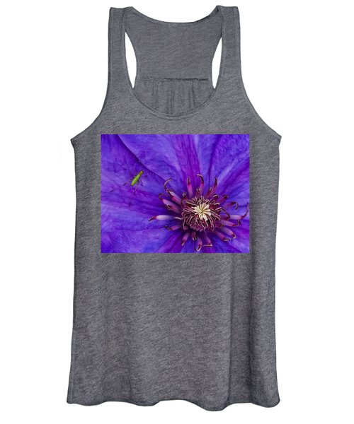 My Old Clematis Home Women's Tank Top