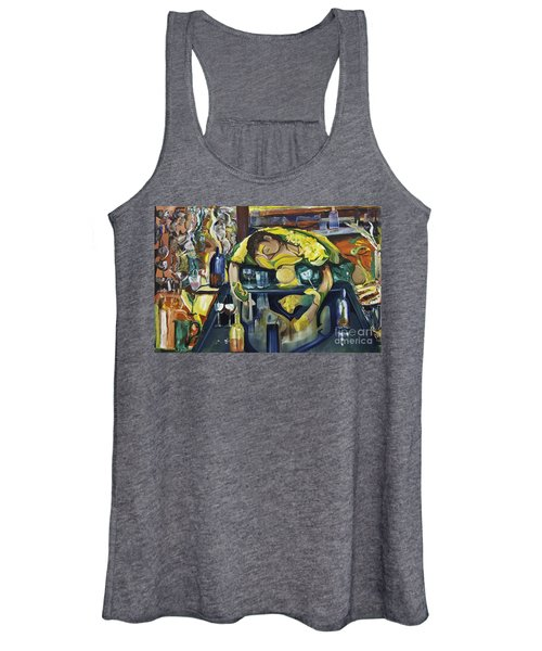 Narcisisstic Wine Bar Experience - After Caravaggio Women's Tank Top