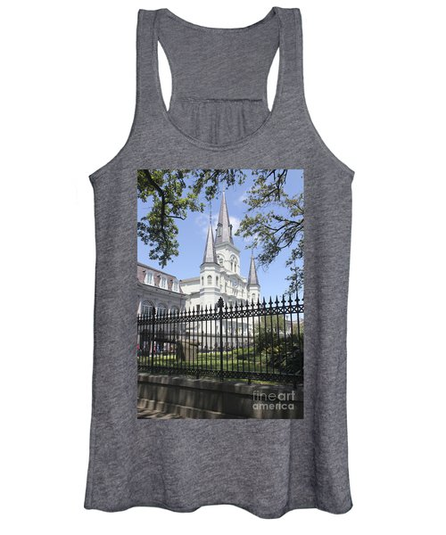 St Louis Cathedral In New Orleans 19 Women's Tank Top
