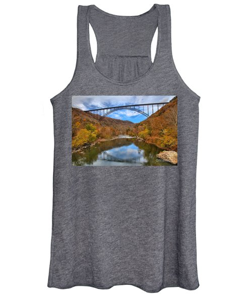 New River Gorge Reflections Women's Tank Top