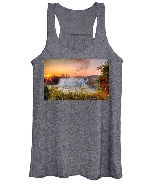 Niagara Falls Canada Sunrise Women's Tank Top